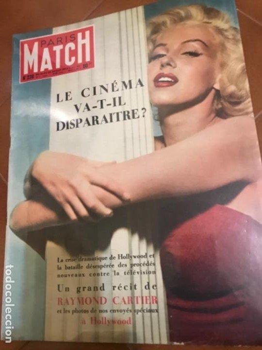 MARILYN PARIS MATCH 1953 (Cine - Revistas - Otros)