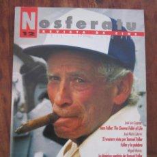 Cine: NOSFERATU. REVISTA DE CINE Nº 12 ABRIL 1998. ESPECIAL SAMUEL FULLER. Lote 221478081