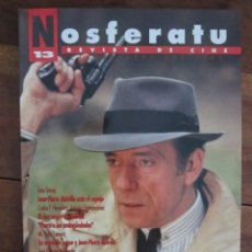 Cine: NOSFERATU. REVISTA DE CINE Nº 13 OCTUBRE 1993. ESPECIAL JEAN PIERRE MELVILLE. Lote 221486601