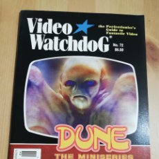 Cine: REVISTA VIDEO WATCHDOG NO. 72 (DUNE. THE MINISERIES / DUSAN MAKEVAJEV AND THE MYSTERIES OF CINEMA). Lote 221492995