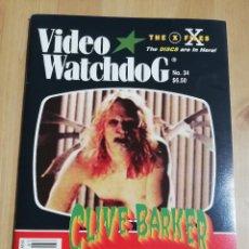 Cine: REVISTA VIDEO WATCHDOG NO. 34 (CLIVE BARKER / DUNE - THE MISSING SCENES!). Lote 221496092