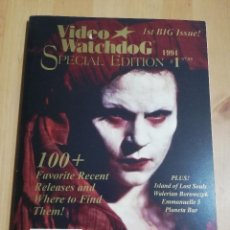 Cine: REVISTA VIDEO WATCHDOG SPECIAL EDITION 1 (1994) ISLAND OF LOST SOULS / WALERIAN BOROWCZYK / .... Lote 221496818