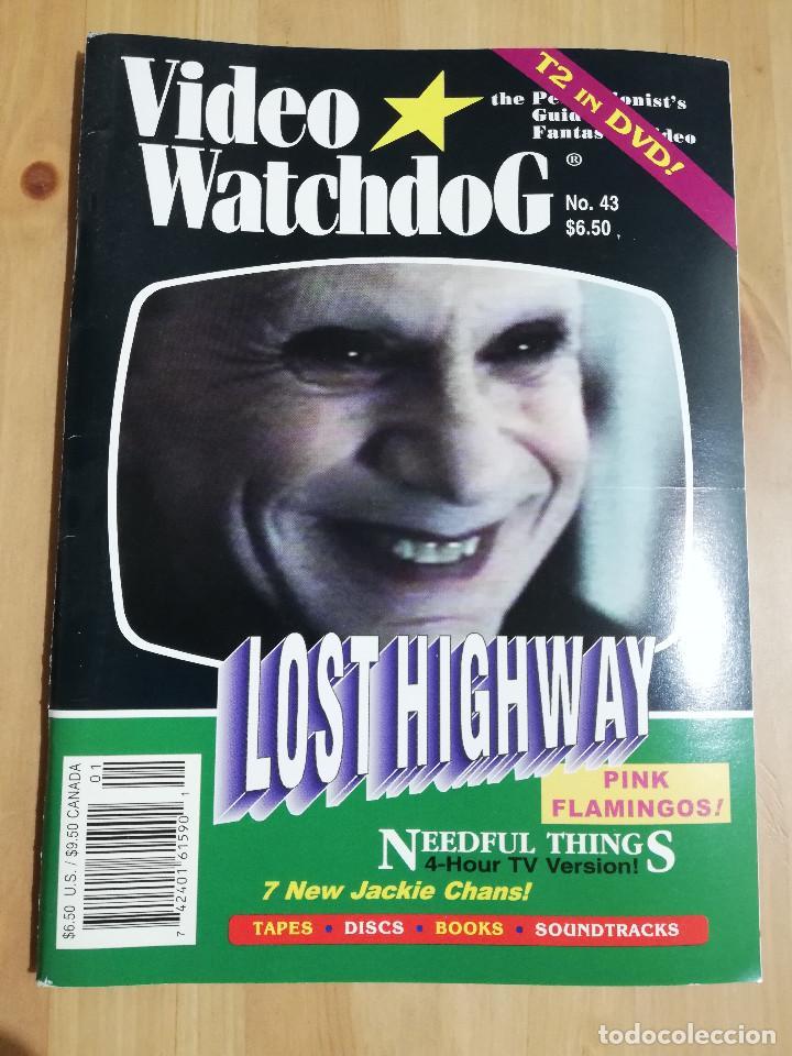 REVISTA VIDEO WATCHDOG NO. 43 (LOST HIGHWAY / REBUILDING STEPHEN KING'S NEEDFUL THINGS / SHADOWMAN) (Cine - Revistas - Otros)