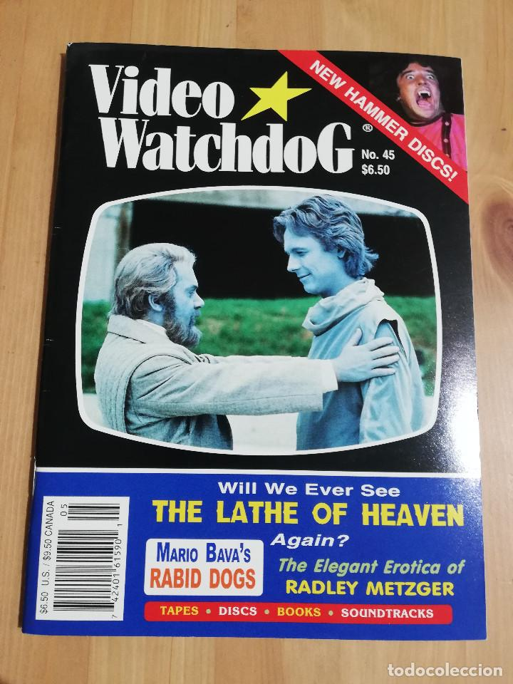 REVISTA WATCHDOG NO. 45 (WILL WE EVER SEE THE LATE OF HEAVEN AGAIN?) (Cine - Revistas - Otros)