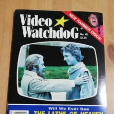 Cine: REVISTA WATCHDOG NO. 45 (WILL WE EVER SEE THE LATE OF HEAVEN AGAIN?). Lote 221511718