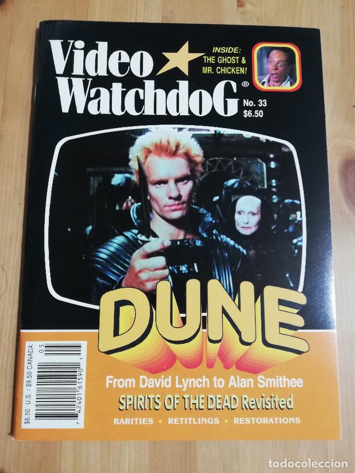 REVISTA VIDEO WATCHDOG NO. 33 (DUNE. FROM DAVID LYNCH TO ALAN SMITHEE / SPIRITS OF THE DEAD) (Cine - Revistas - Otros)