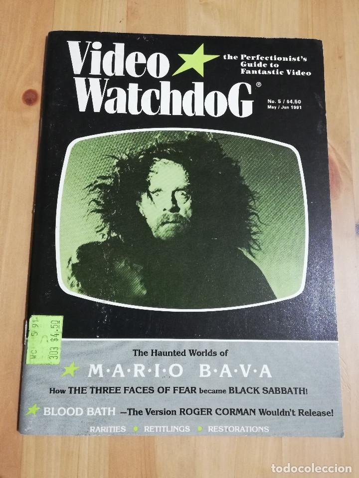 REVISTA VIDEO WATCHDOG NO. 5 (THE HAUNTED WORLDS OF MARIO BAVA) (Cine - Revistas - Otros)