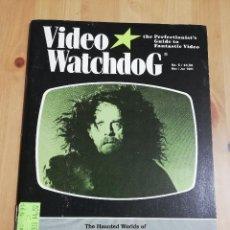 Cinema: REVISTA VIDEO WATCHDOG NO. 5 (THE HAUNTED WORLDS OF MARIO BAVA). Lote 221511983