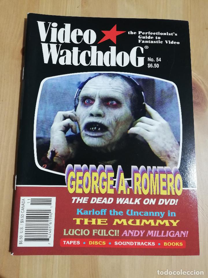 REVISTA VIDEO WATCHDOG NO. 54 (GEORGE A. ROMERO / HOW TO MAKE AN ANDY MILLIGAN MOVIE) (Cine - Revistas - Otros)