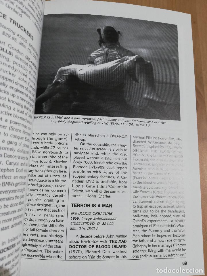 Cine: REVISTA VIDEO WATCHDOG NO. 54 (GEORGE A. ROMERO / HOW TO MAKE AN ANDY MILLIGAN MOVIE) - Foto 3 - 221512152