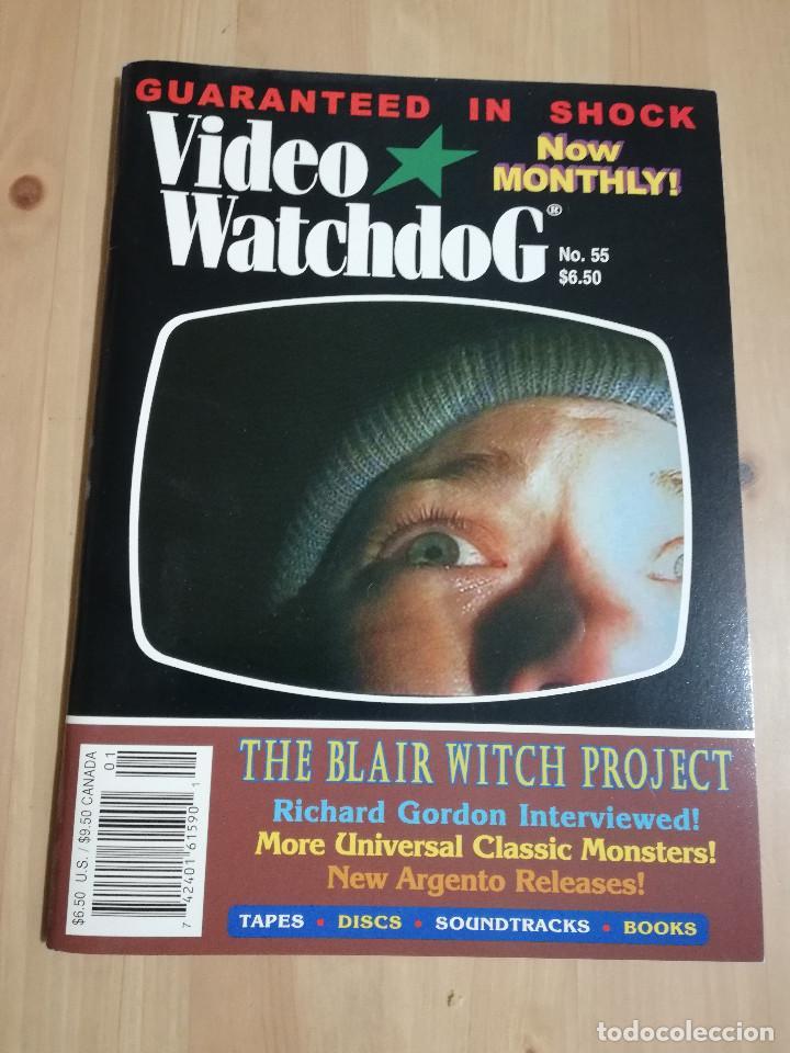 REVISTA VIDEO WATCHDOG NO. 55 (THE BLAIR WITCH PROJECT / RICHARD GORDON INTERVIEWED) (Cine - Revistas - Otros)