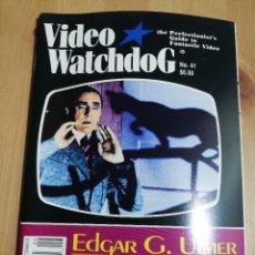 Cine: REVISTA VIDEO WATCHDOG NO. 41 (EDGAR G. ULMER). Lote 221599752