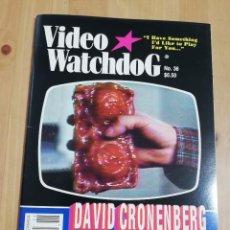 Cine: REVISTA VIDEO WATCHDOG NO. 36 (DAVID CRONENBERG). Lote 221601311