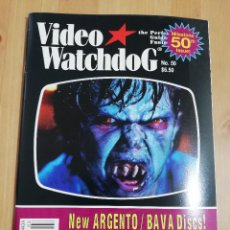 Cine: REVISTA VIDEO WATCHDOG NO. 50 (NEW ARGENTO / BAVA DISCS! / LON CHANEY! / INDONESIAN HORROR). Lote 221602963