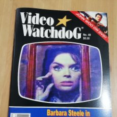 Cine: REVISTA VIDEO WATCHDOG NO. 49 (BARBARA STEELE IN THE HORRIBLE DR. HICHCOCK / DARK CITY! / GODZILLA!). Lote 221603500
