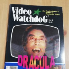 Cine: REVISTA VIDEO WATCHDOG NO. 48 (DRACULA / GORDON MITCHELL INTERVIEWED! / HAMMER & REDEMPTION). Lote 221603893