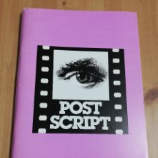 Cine: REVISTA POST SCRIPT. ESSAYS IN FILM AND THE HUMANITIES (VOLUME 16, NUMBER 3) SUMMER 1997. Lote 221619286