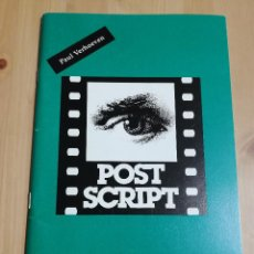 Cine: REVISTA POST SCRIPT. ESSAYS IN FILM AND THE HUMANITIES (VOLUME 12, NUMBER 3) SUMMER 1993. Lote 221619563
