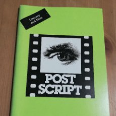 Cine: REVISTA POST SCRIPT. ESSAYS IN FILM AND THE HUMANITIES (VOLUME 16, NUMBER 2) WINTER / SPRING 1997. Lote 221619668