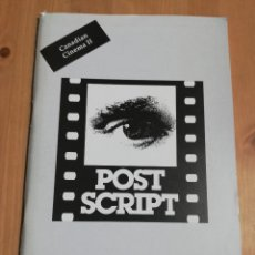 Cine: REVISTA POST SCRIPT. ESSAYS IN FILM AND THE HUMANITIES (VOLUME 18, NUMBER 2) 1999. Lote 221620061