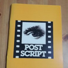 Cine: REVISTA POST SCRIPT. ESSAYS IN FILM AND THE HUMANITIES (VOLUME 18, NUMBER 3) SUMMER 1999. Lote 221620151