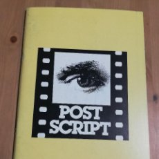Cine: REVISTA POST SCRIPT. ESSAYS IN FILM AND THE HUMANITIES (VOLUME 14, NUMBER 3) SUMMER 1995. Lote 221620250