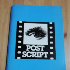Cine: REVISTA POST SCRIPT. ESSAYS IN FILM AND THE HUMANITIES (VOLUME 15, NUMBER 3) SUMMER 1996. Lote 221620412