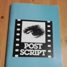 Cine: REVISTA POST SCRIPT. ESSAYS IN FILM AND THE HUMANITIES (VOLUME 17, NUMBER 3) SUMMER 1998. Lote 221620580