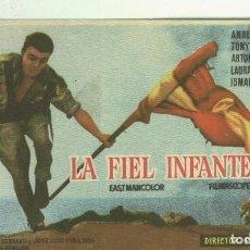 Cine: PROGRAMAS DE CINE: LA FIEL INFANTERIA. Lote 221623688