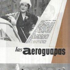 Cine: FICHA CINE SUEVIA FILMS: LAS AEROGUAPAS Y LAS DE CAIN. Lote 221631463