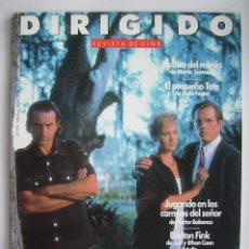 Cine: DIRIGIDO POR. REVISTA Nº 199. AÑO 1992.. Lote 221635348
