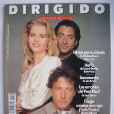 Cine: DIRIGIDO POR. REVISTA Nº 211. AÑO 1993.. Lote 221639460
