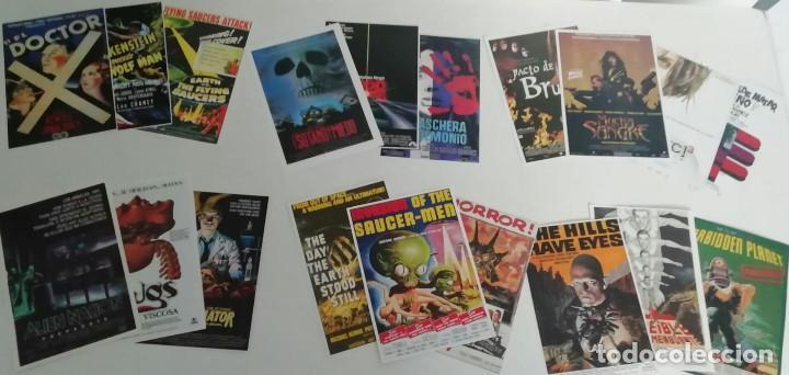 Cine: Lote de 110 reproducciones de carteles de cine. Películas de terror y ciencia ficción - Foto 2 - 221705240