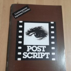 Cine: REVISTA POST SCRIPT. ESSAYS FILM HUMANITIES VOL 18, Nº 1 (1998) CONTEMPORARY JAPANESE CINEMA. Lote 221723948