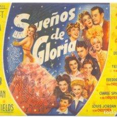 Cine: SUEÑOS DE GLORIA ( AÑO 1946 ). Lote 19085296