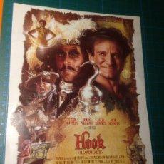Cine: HOOK - STEVEN SPIELBERG - DUSTIN HOFFMAN - ROBIN WILLIAMS. Lote 221825397
