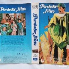 Cine: CARATULA VHS PERDEDOR NATO DE CAJA GRANDE. Lote 221843418
