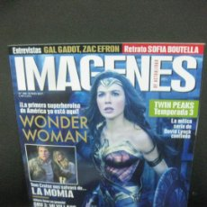 Cine: IMAGENES DE ACTUALIDAD. Nº 380. JUNIO 2017. WONDER WOMAN, LA PRIMERA SUPERHEROINA DE AMERICA. Lote 221924520