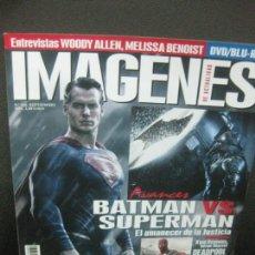 Cine: IMAGENES DE ACTUALIDAD. Nº 360. SEPTIEMBRE 2015. BATMAN VS. SUPERMAN, IRRATIONAL MAN, SUPERGIRL.... Lote 221929372