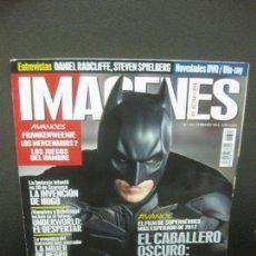 Cine: IMAGENES DE ACTUALIDAD Nº 321. FEBRERO 2012. EL CABALLERO OSCURO: LA LEYENDA RENACE, UNDERWORLD. Lote 221941460