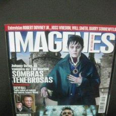Cine: IMAGENES DE ACTUALIDAD Nº 324 MAYO 2012. SOMBRAS TENEBROSAS: JOHNNY DEEP, EL VAMPIRO DE TIM BURTON. Lote 221943190