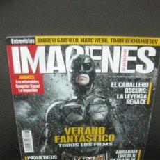 Cine: IMAGENES DE ACTUALIDAD. Nº 326. JULIO-AGOSTO 2012. EL CABALLERO OSCURO, THE AMAZING SPIDER-MAN... Lote 221946426