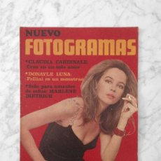 Cine: REVISTA FOTOGRAMAS - Nº 1055 - 1969 - LESLIE CARON, MARLENE DIETRICH, DONAYLE LUNA, PATTY PRAVO. Lote 222048491