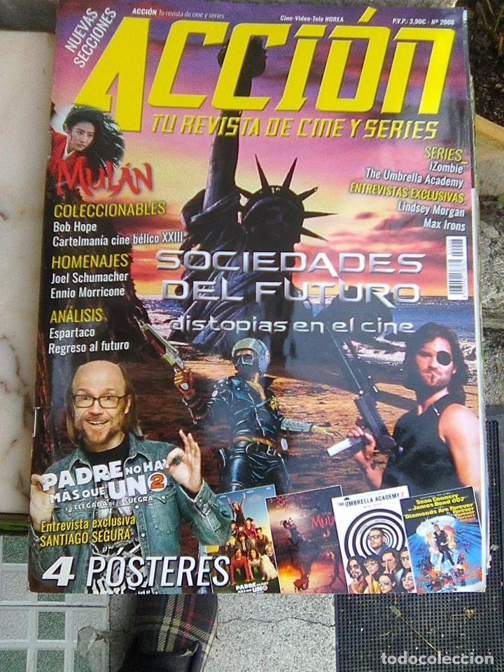 REVISTA ACCIÓN - Nº 2008 - 2020 - (Cine - Revistas - Acción)