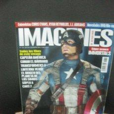 Cinema: IMAGENES DE ACTUALIDAD Nº 315. JULIO-AGOSTO 2011. CAPITAN AMERICA, CONAN EL BARBARO, LINTERNA VERDE. Lote 222131378