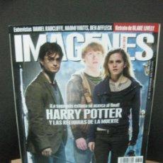 Cinema: IMAGENES DE ACTUALIDAD Nº 307. NOVIEMBRE 2010. HARRY POTTER Y LAS RELIQUIAS DE LA MUERTE, SKYLINE.. Lote 222134882