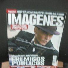 Cine: IMAGENES DE ACTUALIDAD Nº 293. JULIO-AGOSTO 2009. ENEMIGOS PUBLICOS: JOHNNY DEEP ES J. DILLINGER. Lote 222136788