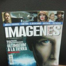 Cine: IMAGENES DE ACTUALIDAD Nº 286. DICIEMBRE 2008. KEANU REEVES: ULTIMATUM A LA TIERRA, STAR TREK. Lote 222139457