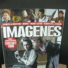 Cine: IMAGENES DE ACTUALIDAD Nº 274. NOVIEMBRE 2007. LA SOMBRA DEL REINO, LEONES POR CORDEROS, REDACTED. Lote 222142680