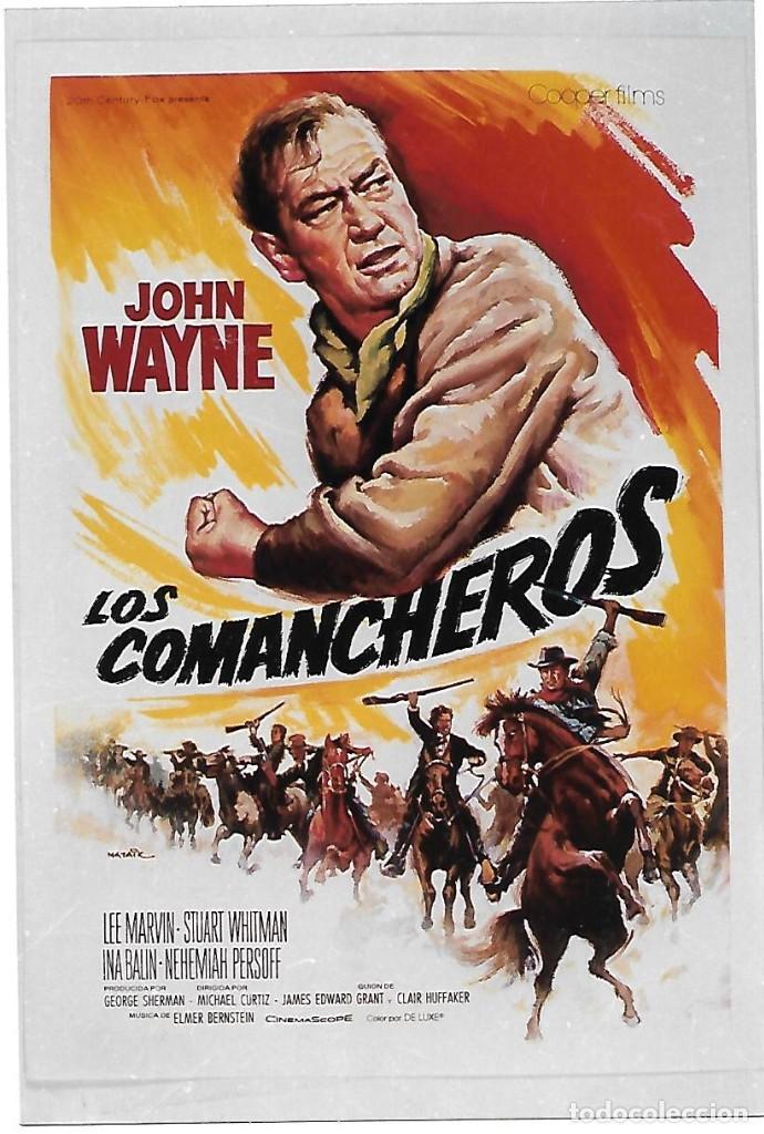 LOS COMANCHEROS (Cine - Reproducciones de carteles, folletos...)